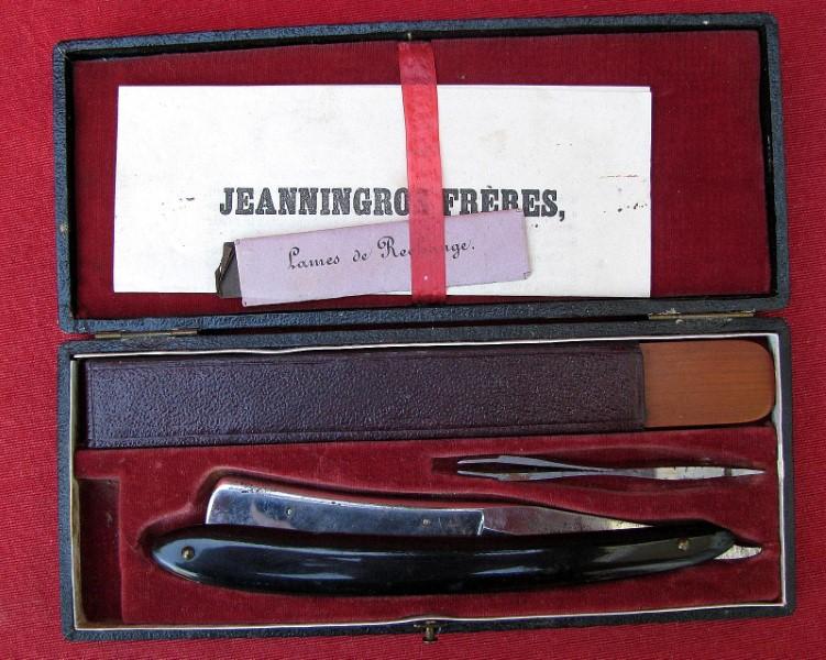 Jeanningros frères, les ancêtres de la shavette :) Jeanni10