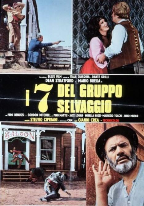 I sette del gruppo selvaggio (Inédit en France) - 1972 ou 1975 - Gianni Crea - 7crea10