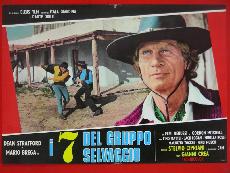 I sette del gruppo selvaggio (Inédit en France) - 1972 ou 1975 - Gianni Crea - _57ff10