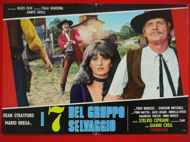 I sette del gruppo selvaggio (Inédit en France) - 1972 ou 1975 - Gianni Crea - _57mmm11