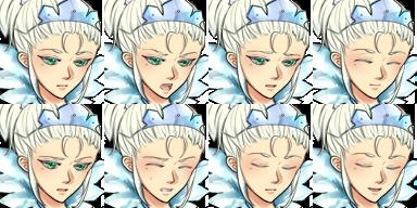 reine des neiges battler sideview Face_w11