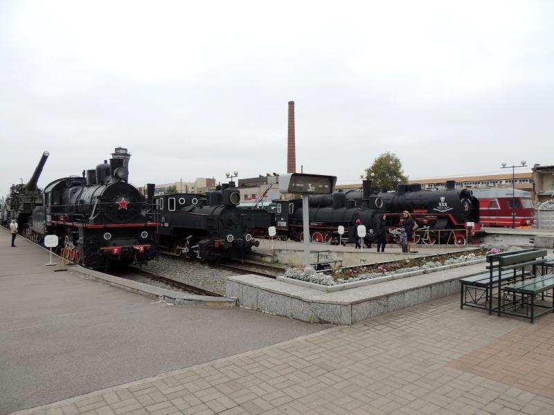 Центральный музей Октябрьской железной дороги в Санкт-Петербурге Dscn1512