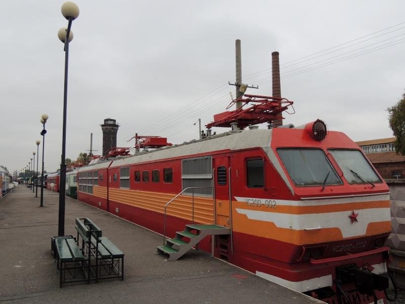 Центральный музей Октябрьской железной дороги в Санкт-Петербурге Dscn1681