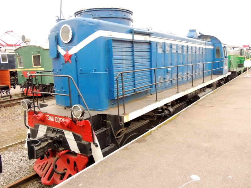 Центральный музей Октябрьской железной дороги в Санкт-Петербурге Dscn1692