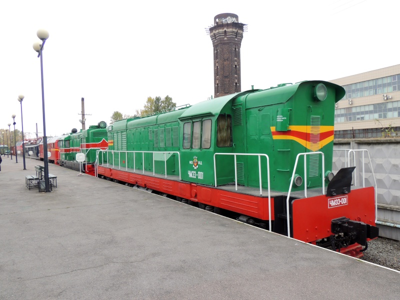 Центральный музей Октябрьской железной дороги в Санкт-Петербурге Dscn1699
