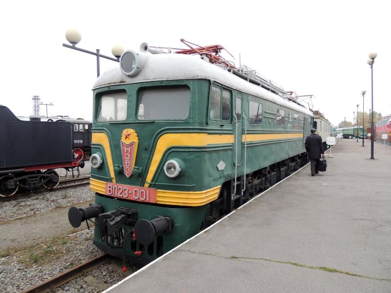 Центральный музей Октябрьской железной дороги в Санкт-Петербурге Dscn1712