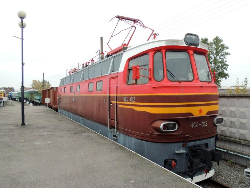 Центральный музей Октябрьской железной дороги в Санкт-Петербурге Dscn1716