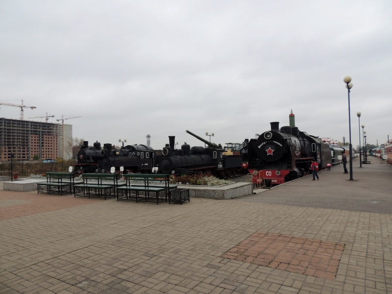 Центральный музей Октябрьской железной дороги в Санкт-Петербурге Dscn1726