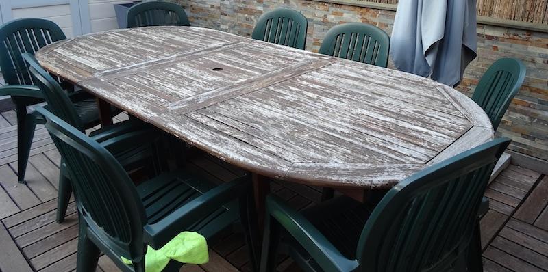 Est il possible de faire quelque chose de durable de cette table ? Dsc05032