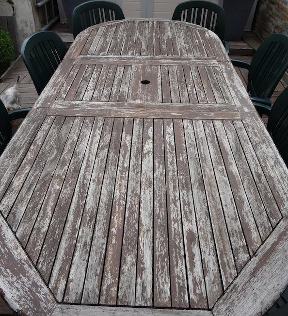 Est il possible de faire quelque chose de durable de cette table ? Dsc05037