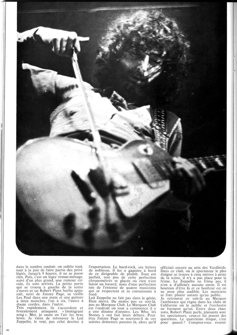 Led Zeppelin dans la presse française B34-4418
