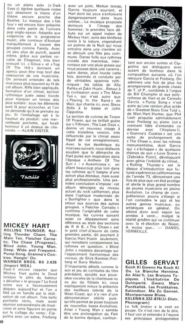 Mickey Hart - Rolling Thunder Gd61610