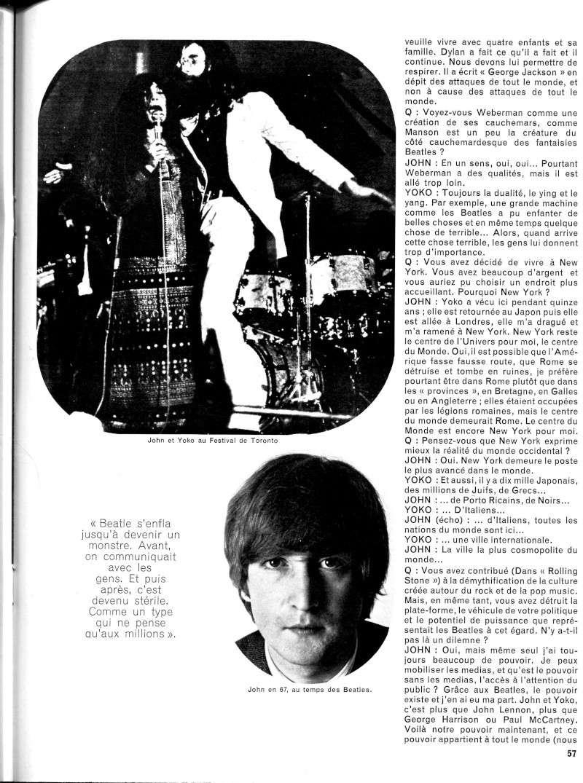 John Lennon & Yoko Ono : Sometime In New York City (1972) R63-4213