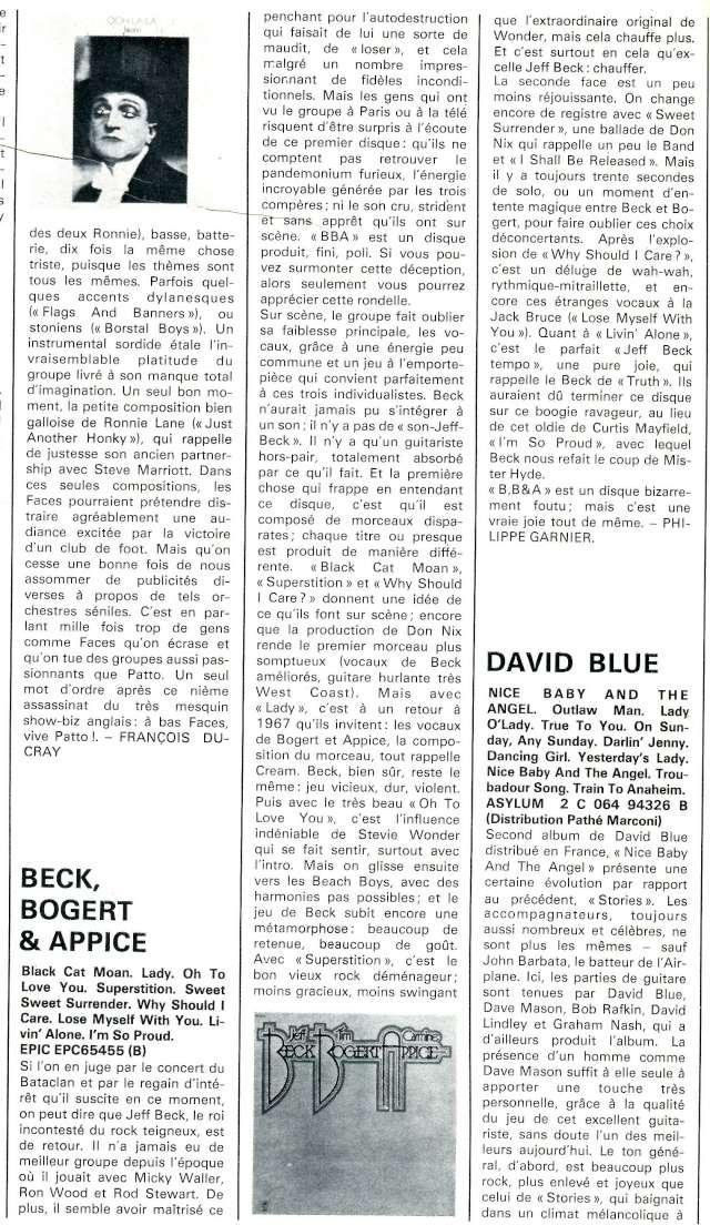 Beck Bogert Appice (1973) R77-7210