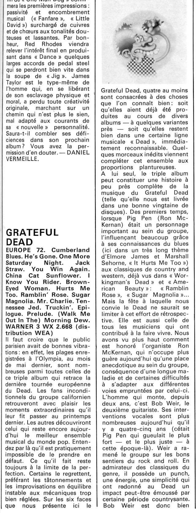 Grateful Dead - Europe '72 (1972) R_72-615
