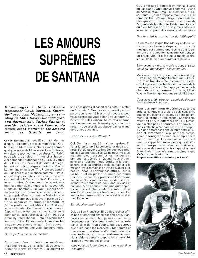Santana dans la presse musicale française Santan11