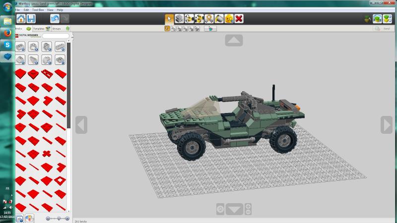 Warthog Halo 4 lego Sans_t14