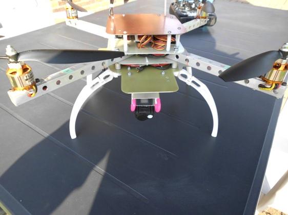 """Quadri rotor """"Home Made"""" 111"""