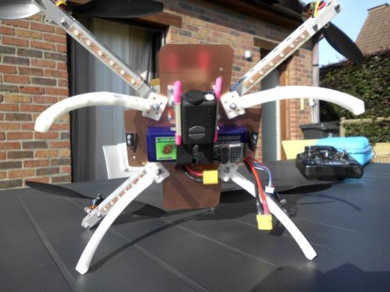"""Quadri rotor """"Home Made"""" 411"""