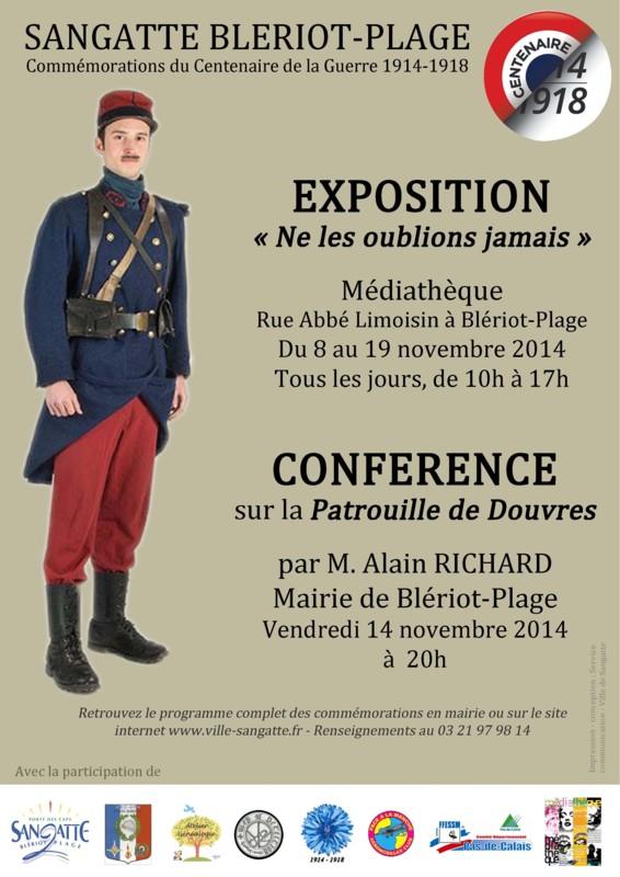 Expo et conférence à Sangatte Guerre11