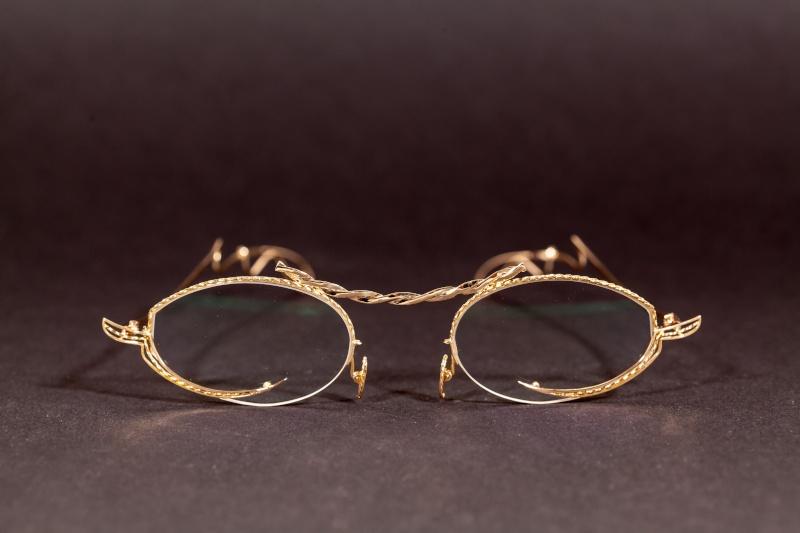Paire de lunette torsadée or  Img_0014