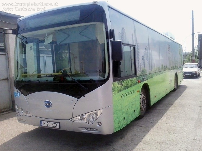 BYD K9 Electric în probe ( 2014 ) 10295810