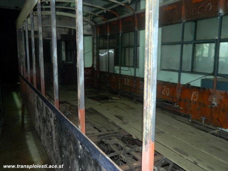 Tramvaie de epocă restaurate la TCE Ploiești 10588510