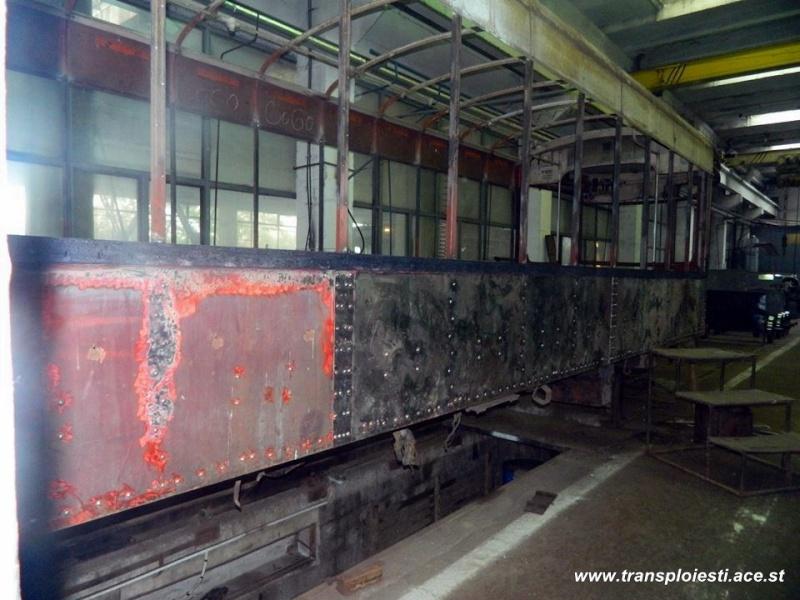 Tramvaie de epocă restaurate la TCE Ploiești 10588710