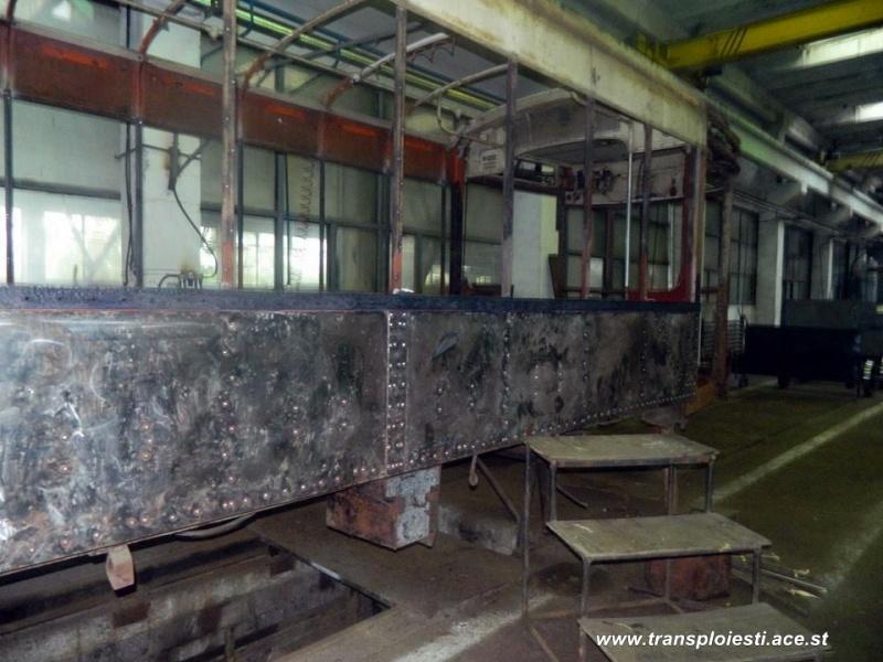 Tramvaie de epocă restaurate la TCE Ploiești 10608910