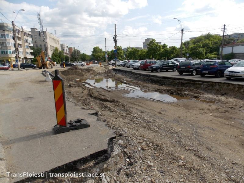 Traseul 101, etapa II: Intersecție Candiano Popescu ( zona BCR ) - Gara de Sud 106wzf10