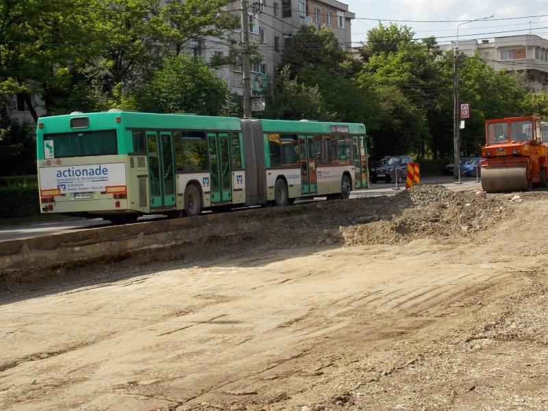 Traseul 101, etapa II: Intersecție Candiano Popescu ( zona BCR ) - Gara de Sud 11jtzx10
