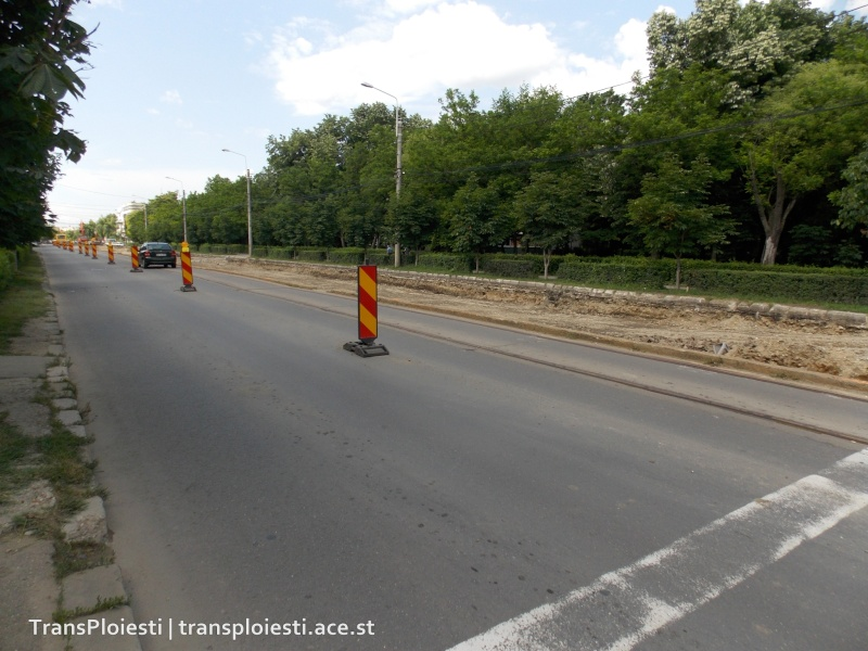 Traseul 101, etapa II: Intersecție Candiano Popescu ( zona BCR ) - Gara de Sud 140vw910