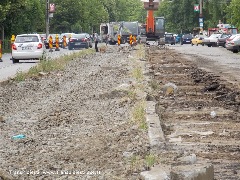 Traseul 101, etapa II: Intersecție Candiano Popescu ( zona BCR ) - Gara de Sud 14xpq010