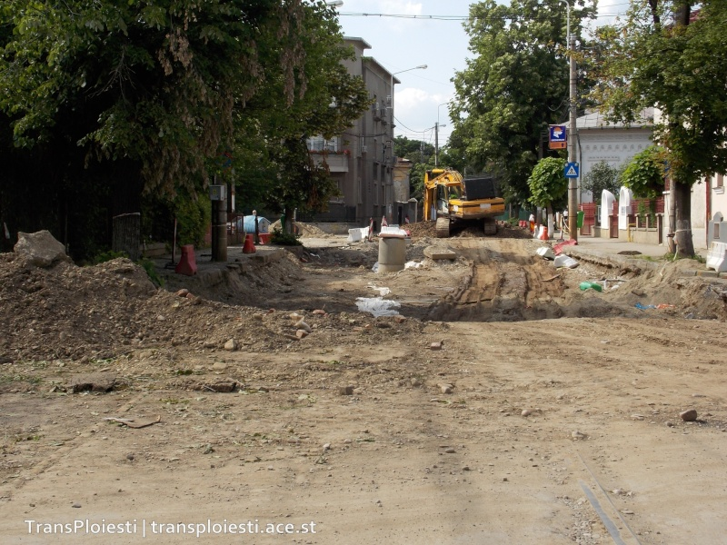 Traseul 101, etapa II: Intersecție Candiano Popescu ( zona BCR ) - Gara de Sud 29lgwt10