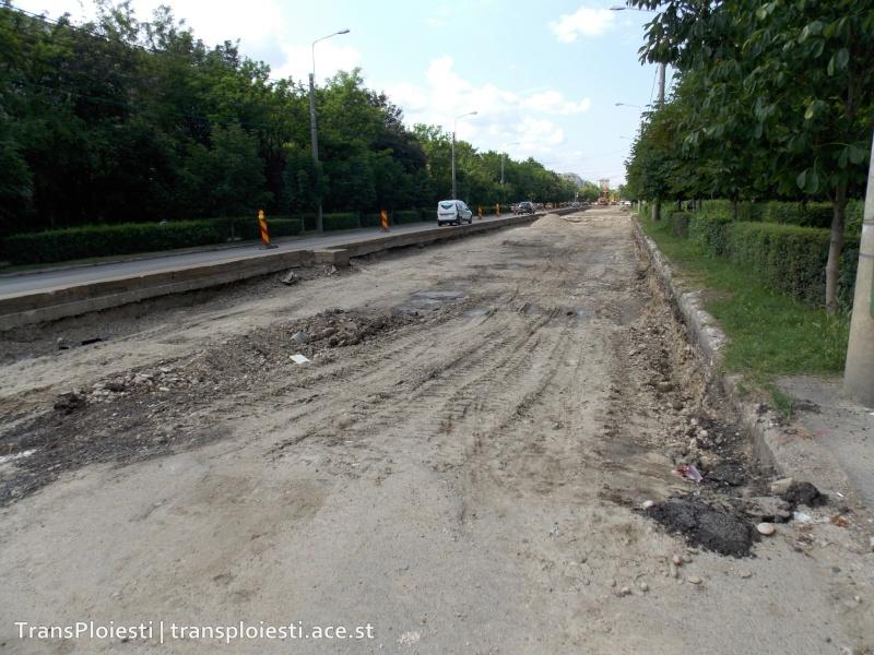 Traseul 101, etapa II: Intersecție Candiano Popescu ( zona BCR ) - Gara de Sud 29m3qq10