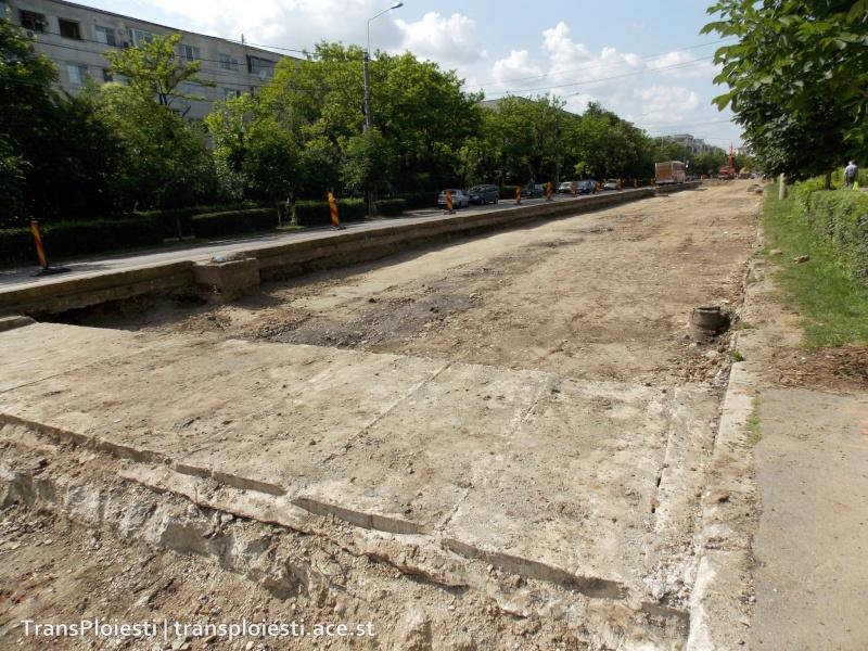 Traseul 101, etapa II: Intersecție Candiano Popescu ( zona BCR ) - Gara de Sud 2edr1q10