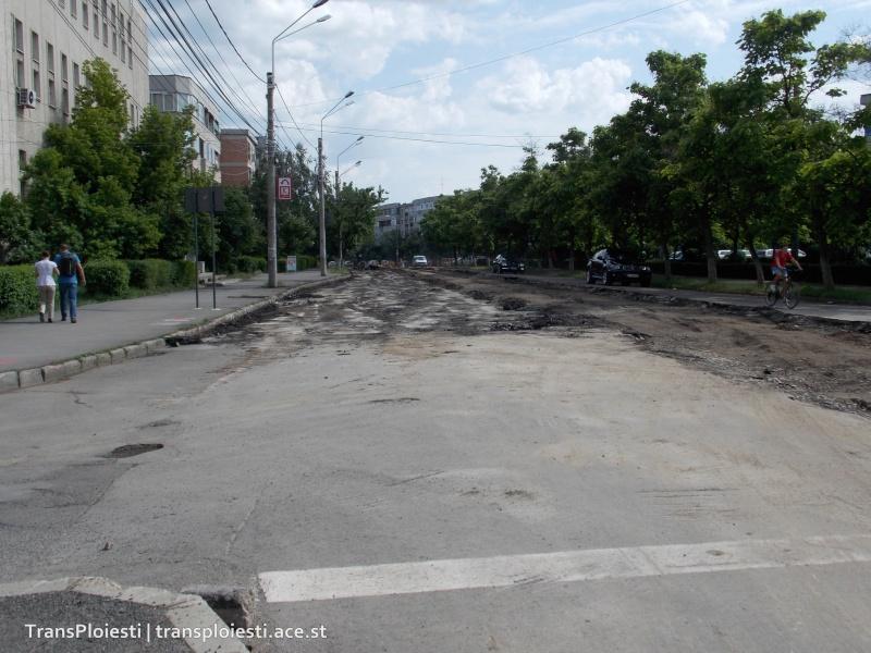 Traseul 101, etapa II: Intersecție Candiano Popescu ( zona BCR ) - Gara de Sud 2md44510