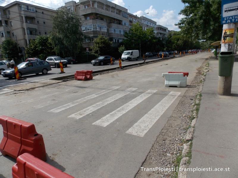 Traseul 101, etapa II: Intersecție Candiano Popescu ( zona BCR ) - Gara de Sud 2uxut010