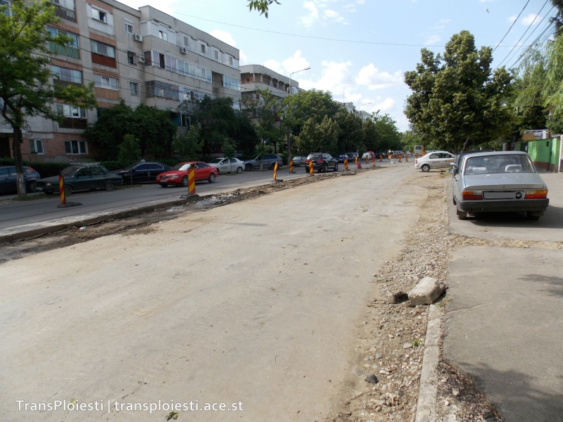 Traseul 101, etapa II: Intersecție Candiano Popescu ( zona BCR ) - Gara de Sud 33uetz10