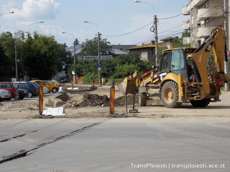 Traseul 101, etapa II: Intersecție Candiano Popescu ( zona BCR ) - Gara de Sud 34zbz210