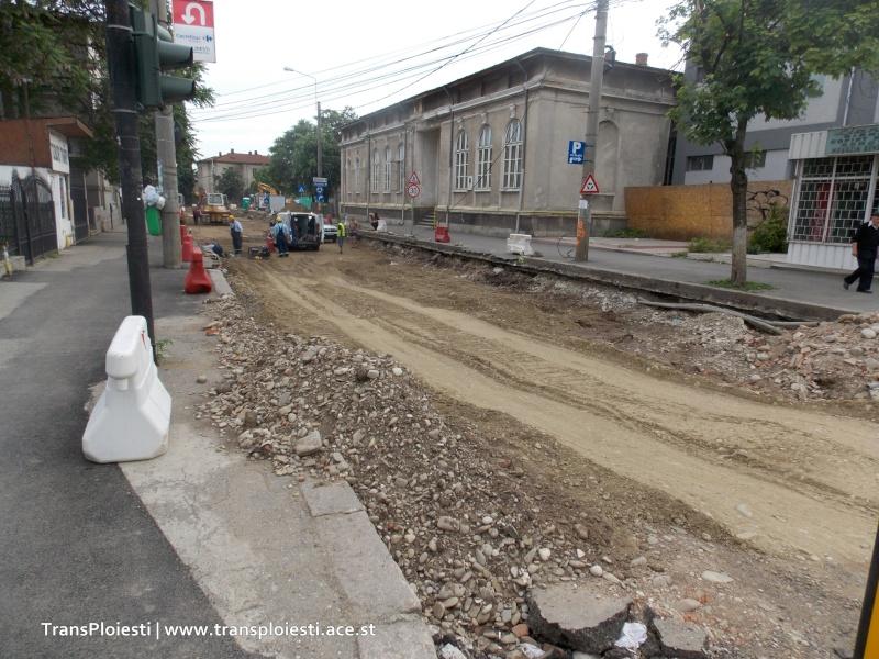 Traseul 101, etapa II: Intersecție Candiano Popescu ( zona BCR ) - Gara de Sud 359mub10