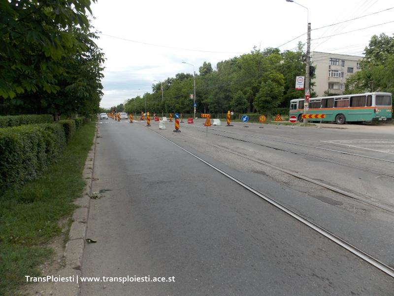 Traseul 101, etapa II: Intersecție Candiano Popescu ( zona BCR ) - Gara de Sud Dscn0012