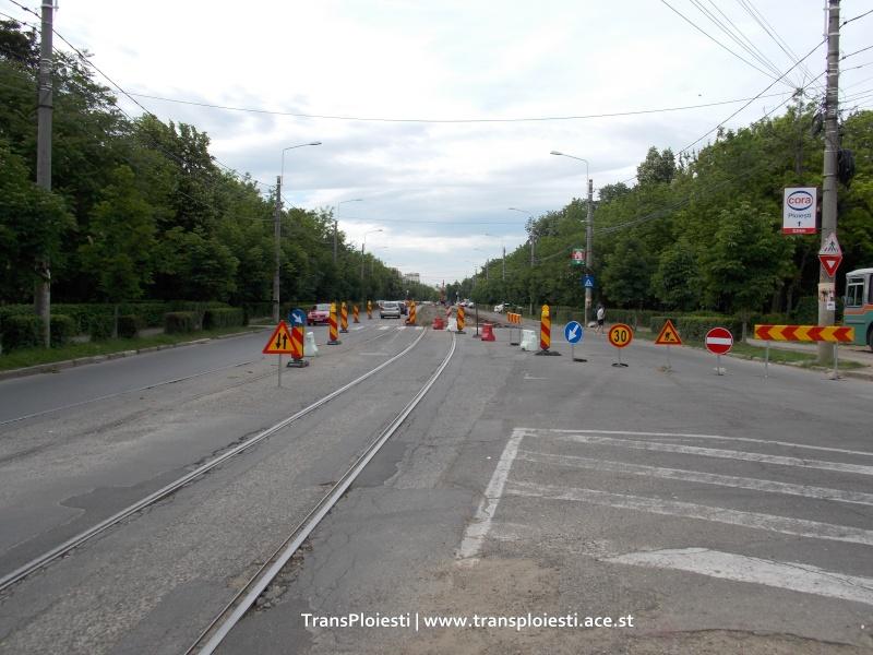 Traseul 101, etapa II: Intersecție Candiano Popescu ( zona BCR ) - Gara de Sud Dscn0013