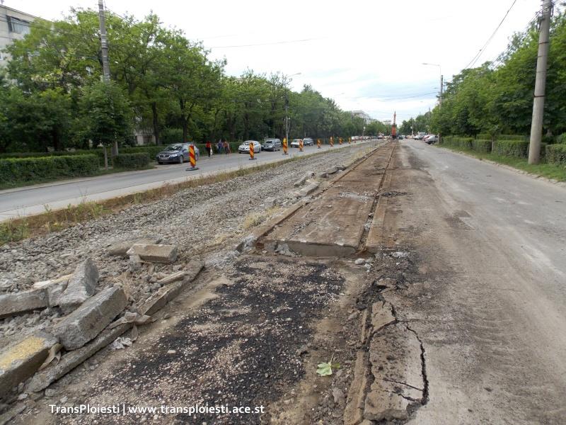 Traseul 101, etapa II: Intersecție Candiano Popescu ( zona BCR ) - Gara de Sud Dscn0018