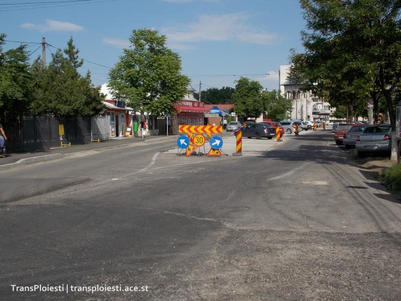 Reabilitare Str. Mihai Bravu - scoaterea liniilor de tramvai Dscn0132
