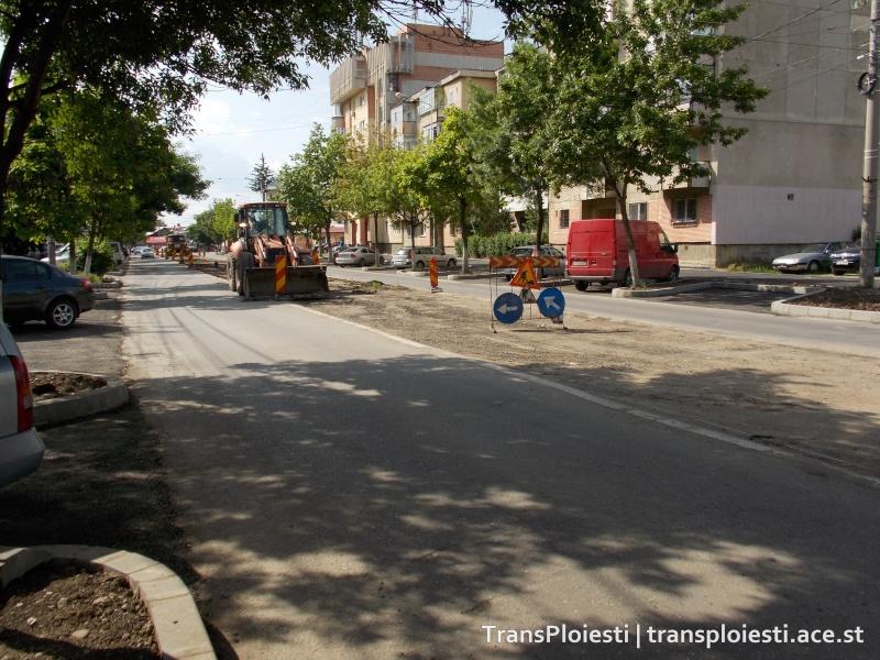 Reabilitare Str. Mihai Bravu - scoaterea liniilor de tramvai Dscn0134