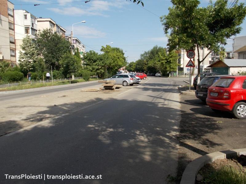 Reabilitare Str. Mihai Bravu - scoaterea liniilor de tramvai Dscn0135