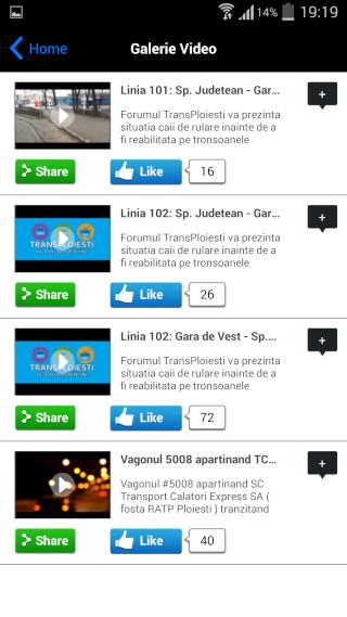 Aplicația TransPloiești Screen12
