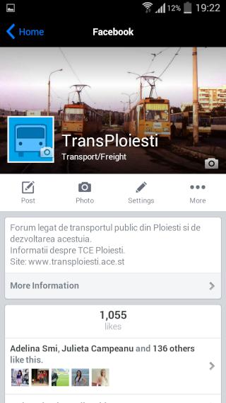 Aplicația TransPloiești Screen14