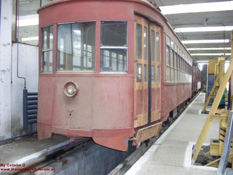Tramvaie de epocă restaurate la TCE Ploiești Sdc10110